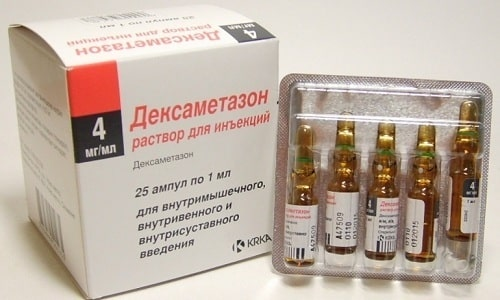 Дексаметазон совместно с Кеторолом применяют для устранения воспаления мышечной ткани