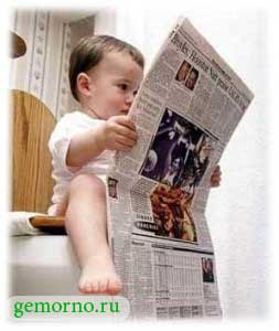 Геморрой у малышей - как бороться?