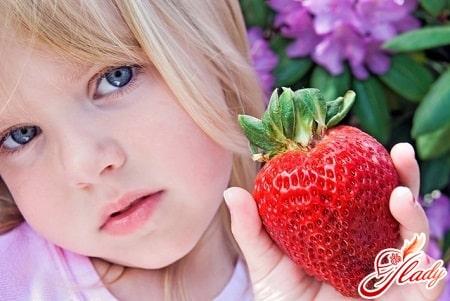 в  гипоаллергенный период запрещается употребление клубники