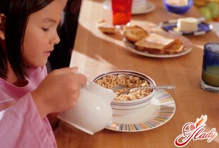 детская диета при гастрите у детей