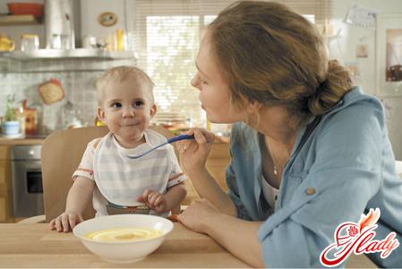 рецепты каш для детей