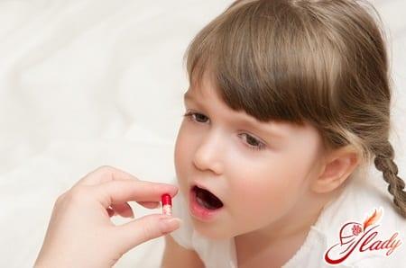 лечение молочницы у ребенка