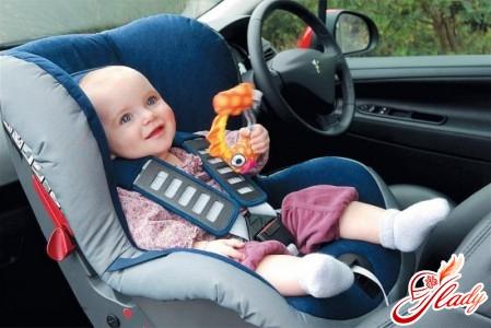 перевозка детей до 12 лет в автомобиле